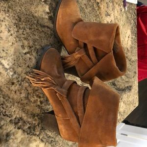 Sbicca suede boots.  - worn once